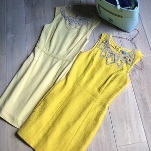 Antonio Melanie happy yellow dress business casual